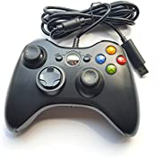 Crifeir Wired Controller for Xbox 360(Black)