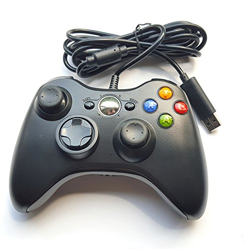 Crifeir Wired Controller for Xbox 360(Black) (Xbox 360 Modded Control)