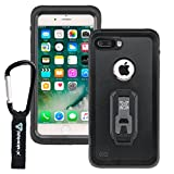 ARMOR-X Apple iPhone 8 Plus & IPhone 7 Plus IP68 2 meter waterproof case with Carabiner