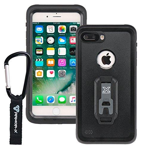 ARMOR-X Apple iPhone 8 Plus & IPhone 7 Plus IP68 2 meter waterproof case with Carabiner by Armor-X