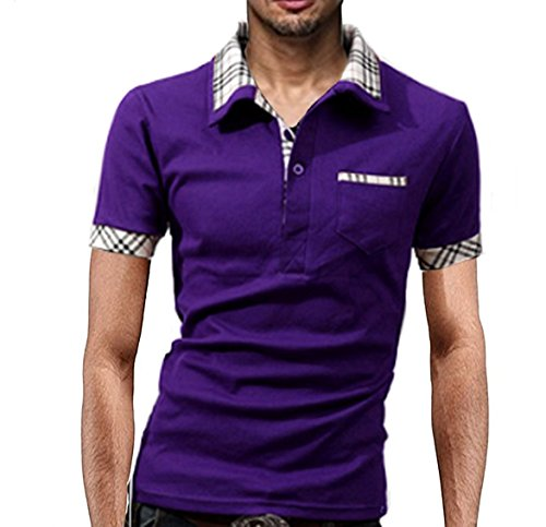 (NAIL39) 無地 柄 半袖 速乾 クール シャツ ハーフ ゴルフ ポロシャツ スポーツ 重ね着風 襟付き 半袖 大きいサイズ メンズ