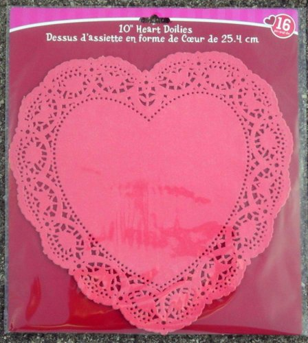 Red Heart Doily - 3