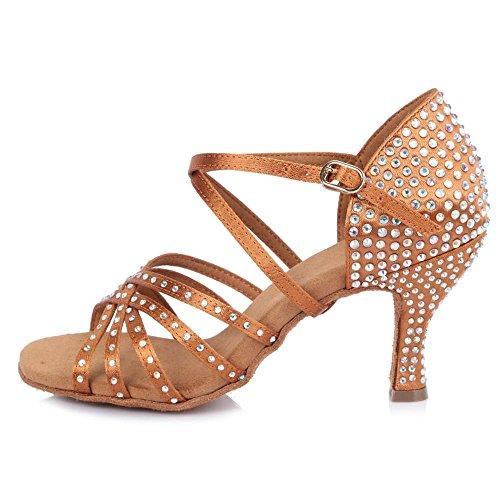 new products 8061f cadc4 YFF Donna Tango/Sala da Ballo Latino/Scarpe da Ballo Salsa ...