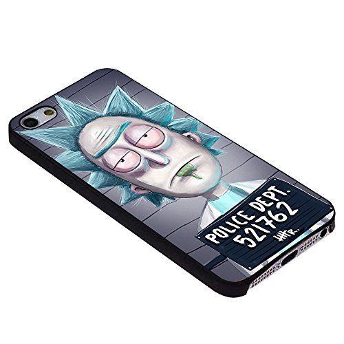 Rick And Morty Fan Art for Iphone Case (iPhone 6s plus black)