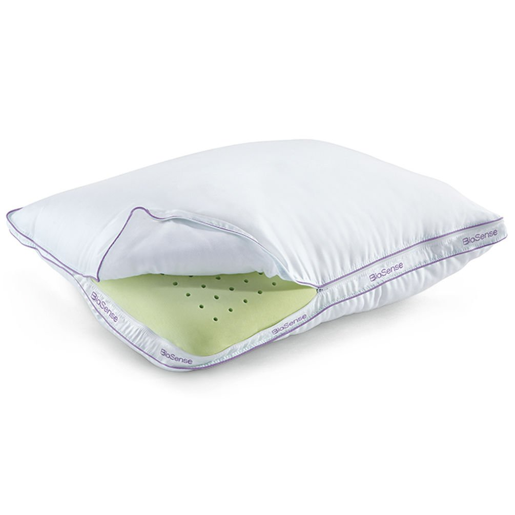 BioSense 2-in-1 Classic Pillow for All Sleepers