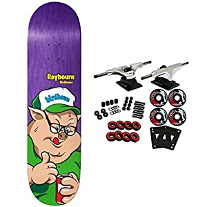 Birdhouse Skateboard Complete Raybourn Remix (ast) 8.5""
