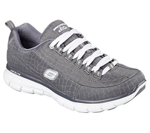 Por nbsp;Trend de Synergy Skechers Estar Carbón Casa Zapatillas Setter para Mujer RfAwB