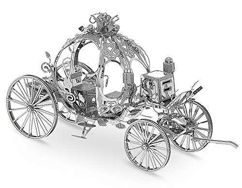 Disney Parks Cinderella Carriage Metal Earth 3 D Model Kit by Disney