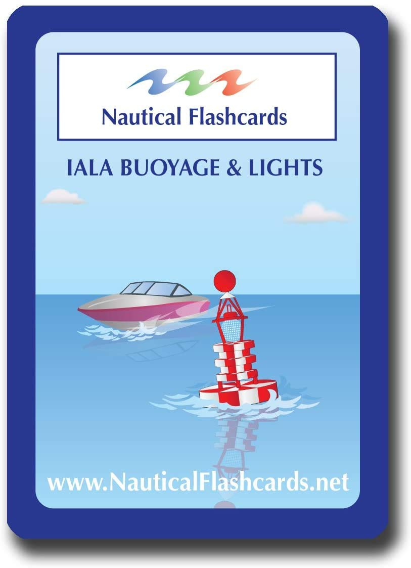 Nautical Flashcards - IALA Buoyage and Lights for Boating and Sailing
