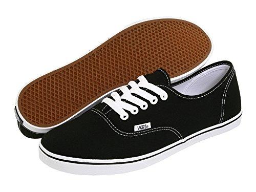 Vans Unisex Authentic Lo Pro Skate Shoe, Black, Size 9.0