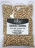 Zaiqa Dry Chickpeas, All Vegan Garbanzo Beans Salad Kabuli Chana Curry, Excellent Nutrition, USA Grown, DIY Hummus and Chickpeas Flour Besan - 2 LBS