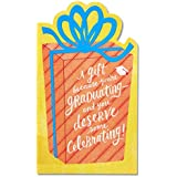 American Greetings Happiness Money and Gift Card Holder Graduation Greeting Card with Foil