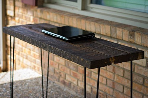 Reclaimed Wood Computer Desk Table - With Rustic Barn Wood and Solid Oak W/  28&quot - Amazon.com: Reclaimed Wood Computer Desk Table - With Rustic Barn