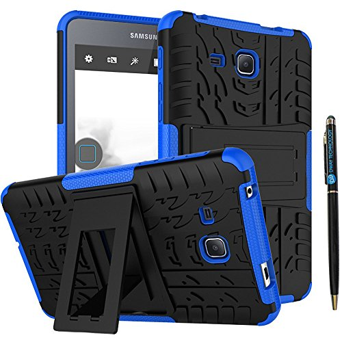 Tab A 7 Inch Tablet Case DWaybox 2in1 Combo Hybrid Armor Rugged Heavy Duty Hard Back Case Cover with Kickstand for Samsung Galaxy Tab A 7.0 Inch SM-T280 / T285 / Samsung Tab A6 A7 7.0