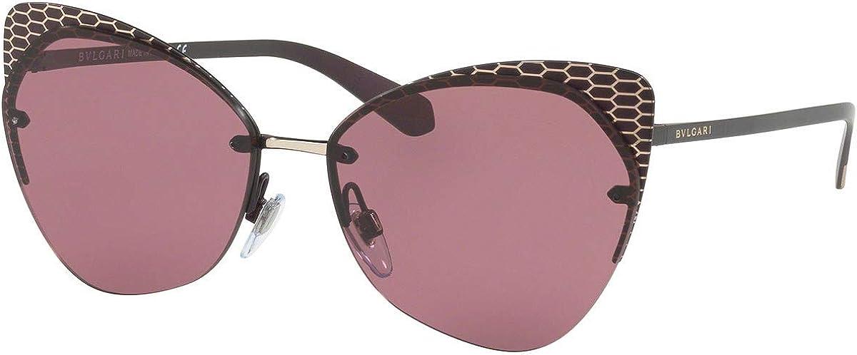 Bulgari BV6096 gafas de sol w / 58mm 20321A BV 6096 mujer Violeta Grande: Amazon.es: Ropa y accesorios