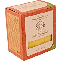 Crate 61 Avocado Grapefruit Soap 3 pack, 100% Vegan Cold Process, scented with premium essential oils, for men and women…