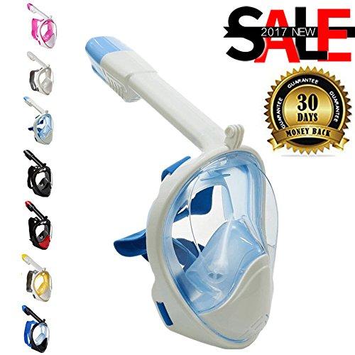 Easybreath Snorkeling Mask Dry Snorkel Leakproof Diving M...