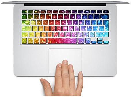 MacBook adhesivo con teclado Reino Unido Estilo colores ...