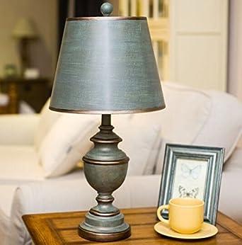 Estilo nórdico dormitorio de campo lámpara de noche sala de ...