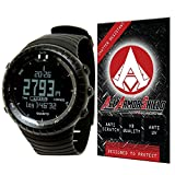 Ace Armor Shield Shatter Resistant Screen Protector for the Suunto Core Wrist-Top Computer Watch / with free lifetime replacement warranty