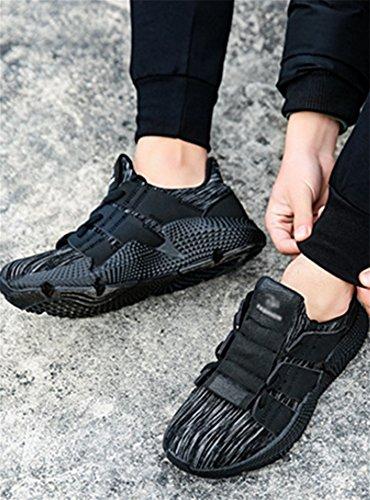 Black Silver Tendencia La Los Lona Divierten Salvajes Renmen 39 Desodorante Hombres Marea Verano De Del Casuales Se 43 Zapatos Respirables fYUUxgw