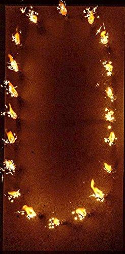Lichterbild Brennende Zahlen thumbnail