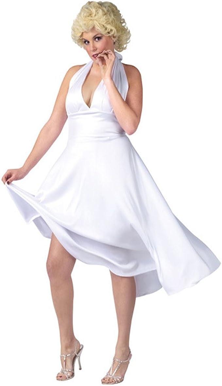 DREAMOWL - Peluca para disfraz de Marilyn Monroe, talla grande ...
