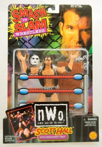 Scott Hall Smash 'N Slam Wrestling Figure AKA Razor Ramone ()