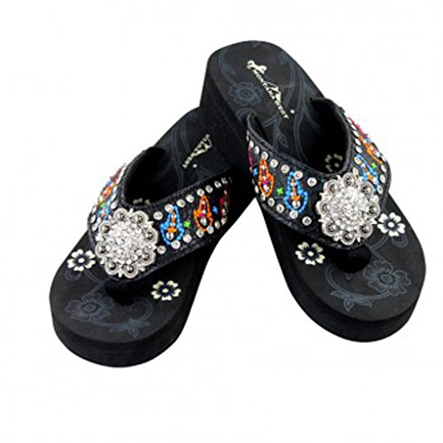 montana-west-flip-flop-sandals-hand-beaded-embroidered-studded-8bm-bk-multi-bling