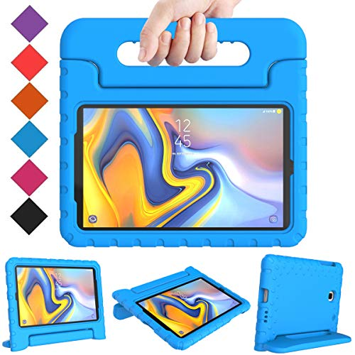 BMOUO Kids Case for Samsung Galaxy Tab A 8.0 2018 SM-T387, Shockproof Light Weight Protective Handle Stand Kids Case for Galaxy Tab A 8.0 Inch 2018 Release SM-T387 - Blue