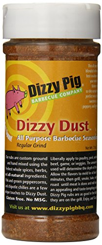 Dizzy Pig BBQ All Purpose Regular Grind Rub Spice - 7.8 Oz