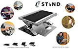 A-STAND: Computer Stand - Lap Desk - Tablet Case - Expandable Travel Tray