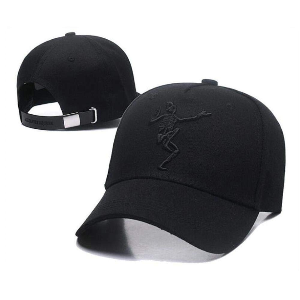 Krgvxfs Spring Autumn Cotton Embroidery Skeleton Baseball Cap Snapback Hat Men Women Hip Hop Fitted Cap