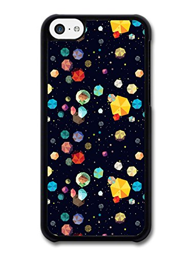 Geometric Diamonds and Rocks In Space Cool Hipster New Style Design coque pour iPhone 5C