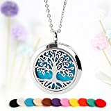 Tree of Life Essential Oil Necklace Aromatherapy Diffuser - Best Reviews Guide