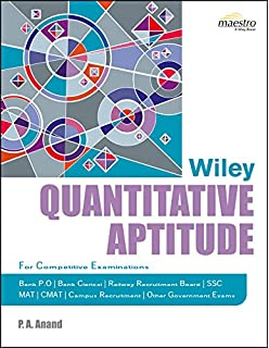 Buy wileys verbal ability and reasoning for competitive wileys quantitative aptitude fandeluxe Image collections