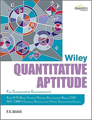Quantitative Aptitude Book Pdf 2015