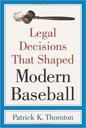 Pagina Descargar Libros Legal Decisions That Shaped Modern Baseball De PDF