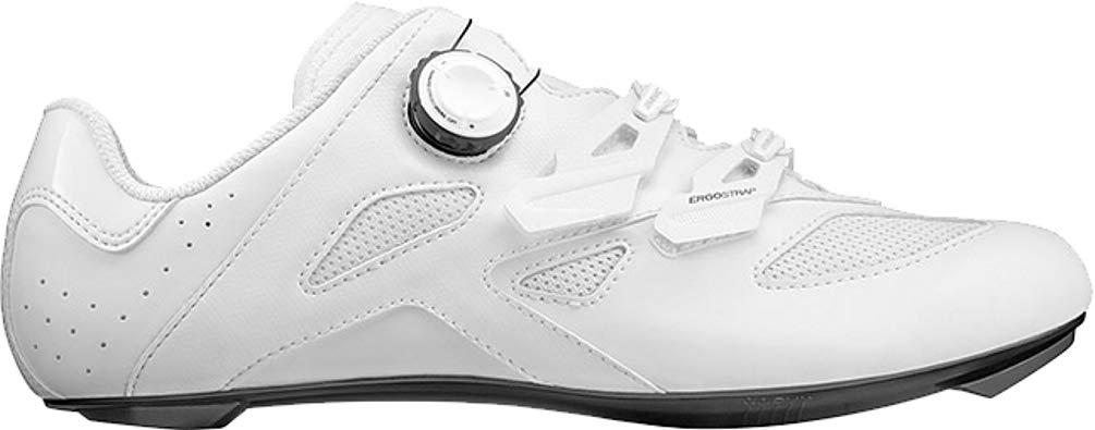 Mavic Cosmic Elite Cycling Shoe - Men's White/White/Black, US 8.5/UK 8.0 by Mavic