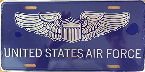 UNITE STATES AIR FORCE Premium Embossed License Plate (LP-1109-164)