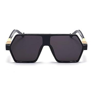Z&YQ Gafas De Sol Espejo Lente Lentes Gafas Steampunk ...