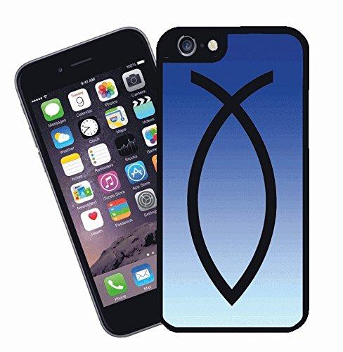 Jesus Fish Christenheit Blue - Apple iPhone case für iPhone 6 - Christian Religiöse Abdeckung von Eclispe Geschenksidee