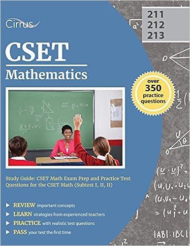 Amazon.com: CSET Mathematics Study Guide: CSET Math Exam Prep and ...
