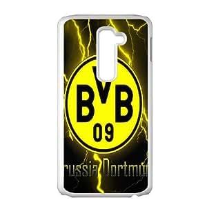 LG G2 Phone Case White Borussia Dortmund BVB Bundesliga Football Club BVB Logo F5125374