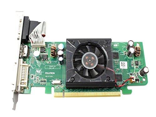 Dell F342F ATI Radeon HD3450 256MB Video Card w/Fan Inspiron 530 535 545 Studio 540 Studio XPS (Ati Radeon Hd 3450 256mb)