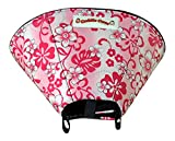 Cuddle Cone Soft E-collar, Medium - Pink Hawaiian