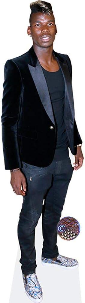 Cardboard Cutout Velvet Jacket Paul Pogba Standee. lifesize