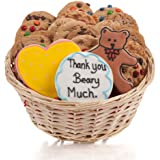 Thank You Beary Much Cookie Gift Basket- 24 Pc.
