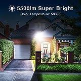 Onforu 50W LED Flood Light, 5500lm Super Bright