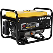 Gracelove Gas Powered 4000 Watt Portable Generator - RV Camping Standby (DS4000S)